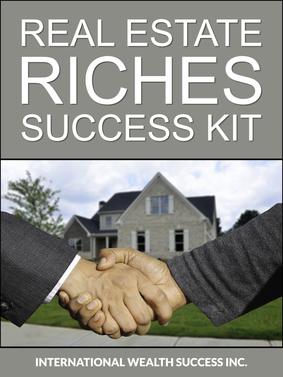 Real Estate Riches Success Kit cover