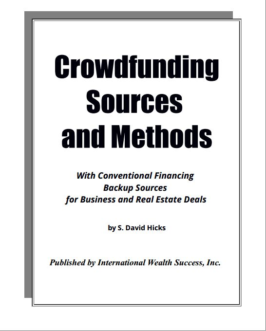 Crowdfunding Sources and Methods book