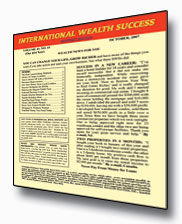 International Wealth Success Newsletter cover
